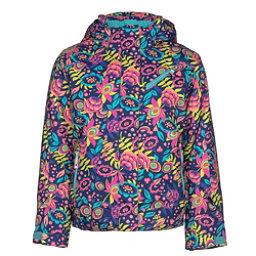 Spyder Lola Girls Ski Jacket, Frontier Large Ditz Print, 256