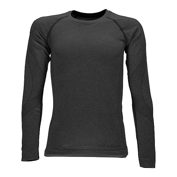 Spyder Cheer Girls Long Underwear Top, Black, 600
