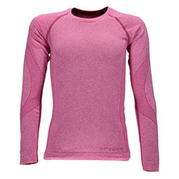 Spyder Cheer Girls Long Underwear Top, Raspberry, 256