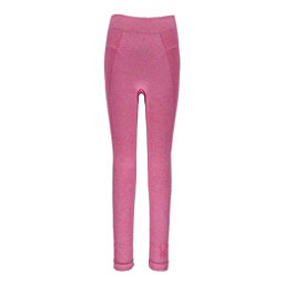 Spyder Cheer Girls Long Underwear Bottom, Raspberry, 256