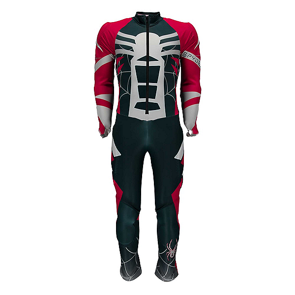 Spyder Nine Ninety Boys Race Suit, Frontier-Red-White, 600