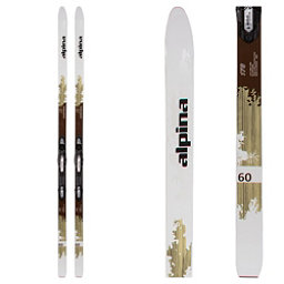 Alpina Control 60 Cross Country Skis with Bindings 2018, , 256