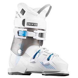 Alpina Ruby 65 Heat Womens Ski Boots 2018, White-Black, 256
