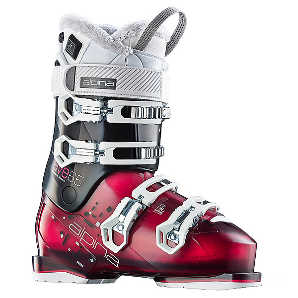 Alpina Eve 75 Heat Womens Ski Boots, Violet-Black, 600