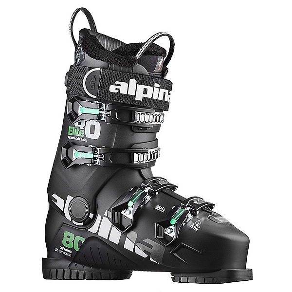 Alpina Elite 80 Heat Ski Boots 2018, Black, 600