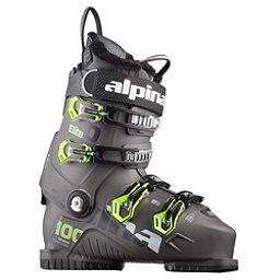 Alpina Elite 100 Heat Ski Boots 2018, Anthracite, 256