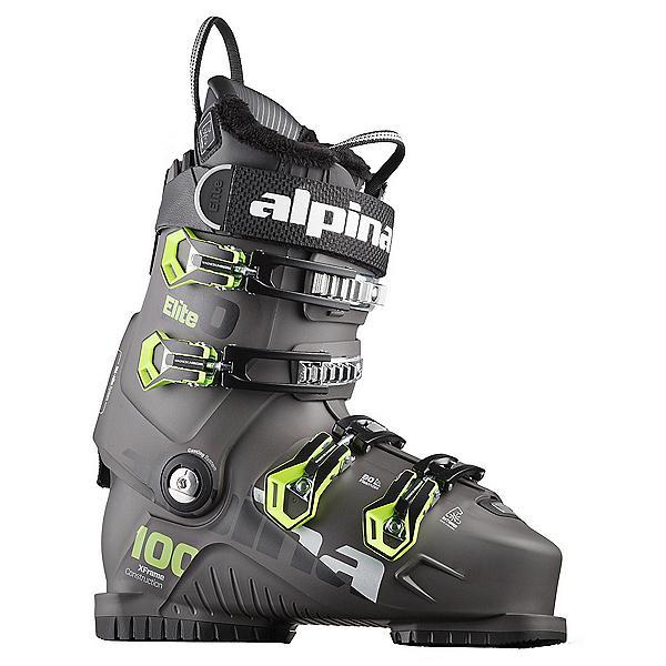 Alpina Elite 100 Heat Ski Boots 2019, Anthracite, 600