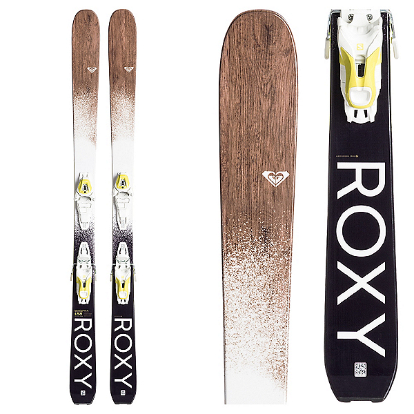 Roxy Dreamcatcher 85 Womens Skis with Lithium 10 Bindings 2018, , 600