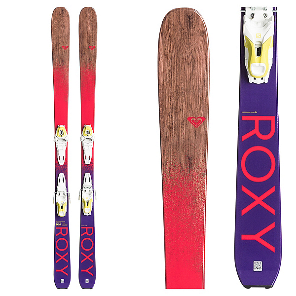 Roxy Dreamcatcher 78 Womens Skis with Lithium 10 Bindings, , 600