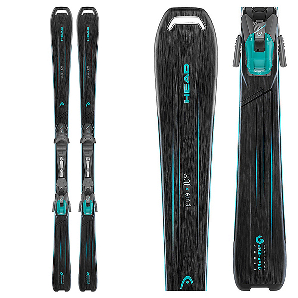 Head Pure Joy Womens Skis with 9 SLR Bindings 2018, , 600