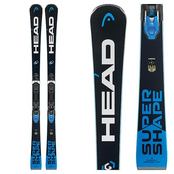 Head Supershape i.Titan Skis with PRD 12 Bindings 2018, , 600