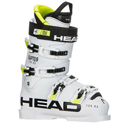Head Raptor 120 RS Race Ski Boots, White, 256