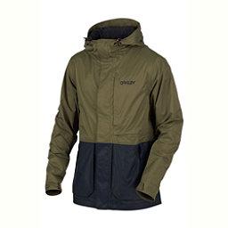 Oakley Highline BZS Mens Shell Snowboard Jacket, Dark Brush, 256