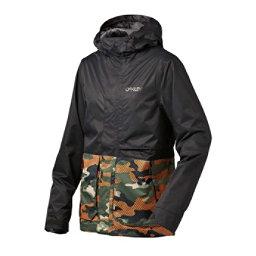 Oakley Highline BZS Mens Shell Snowboard Jacket, Warning Camo, 256