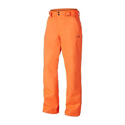 Oakley SunKing BioZone Shell Mens Snowboard Pants, Neon Orange, 256