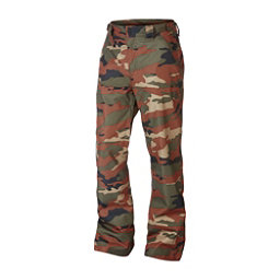 Oakley SunKing BioZone Shell Mens Snowboard Pants, Warning Camo, 256