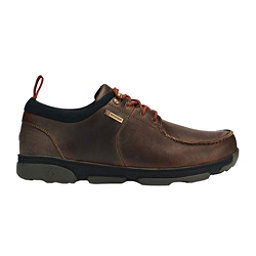 OluKai Makoa WP Mens Casual Shoes, Carob-Black, 256