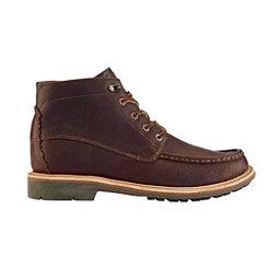 OluKai Kohala Mens Boots, Dark Wood-Dark Wood, 256