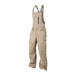 Oakley Timber BioZone Shell Bib Mens Snowboard Pants, Rye, 256