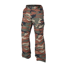 Oakley Arrowhead BioZone Mens Snowboard Pants, Warning Camo, 256