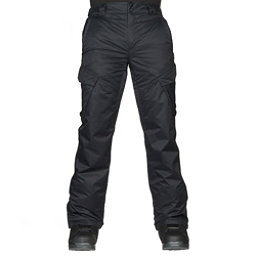 Oakley Arrowhead BioZone Mens Snowboard Pants, Blackout, 256