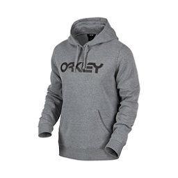 Oakley DWR FP Pullover Mens Hoodie, Athletic Heather Grey, 256