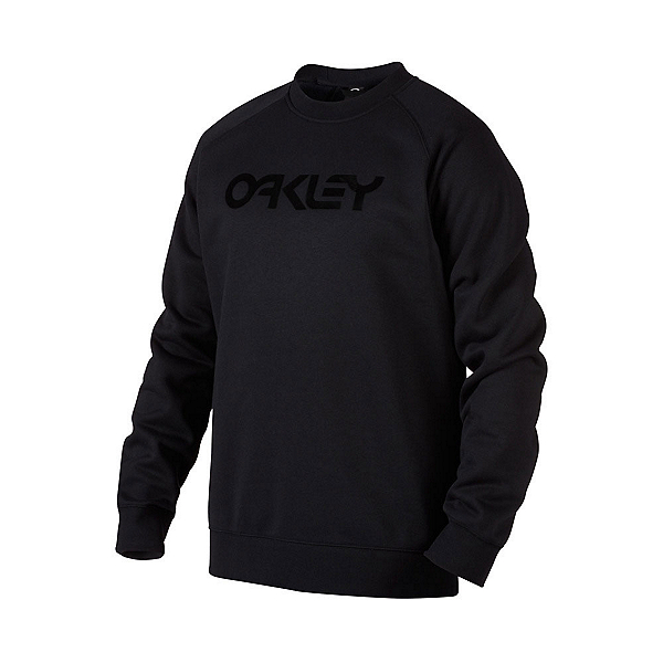 Oakley DWR FP Crew Mens Hoodie, Blackout, 600