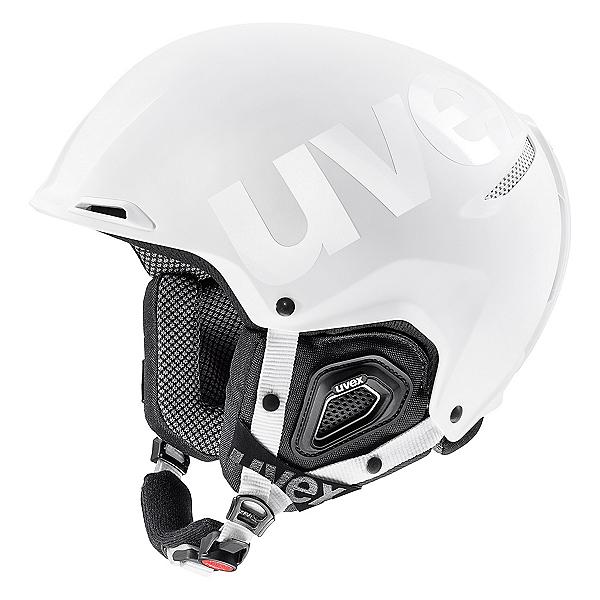 Uvex Jakk+ octo+ Helmet 2018, White Matte-Shiny, 600