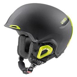Uvex Jakk+ octo+ Helmet 2018, Black-Lime Matte, 256