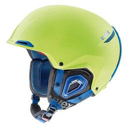 Uvex Jakk+ octo+ Helmet 2018, Lime-Cobalt Matte, 256