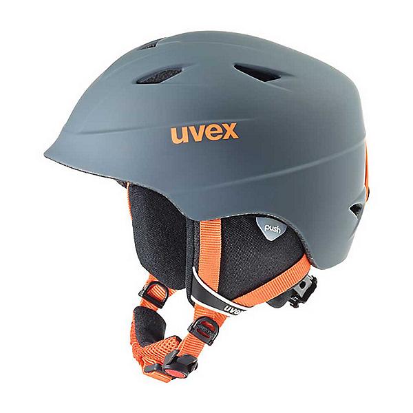 Uvex Airwing 2 Pro Kids Helmet, Titanium-Orange, 600
