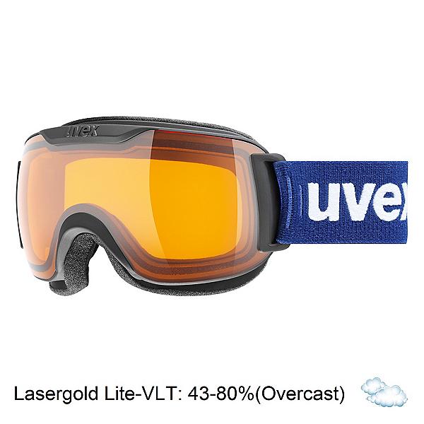 Uvex Downhill 2000 S Race Goggles 2018, Black Matte-Lasergold Lite + Bonus Lens, 600