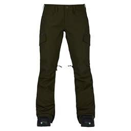 Burton Gloria Womens Snowboard Pants, Forest Night, 256