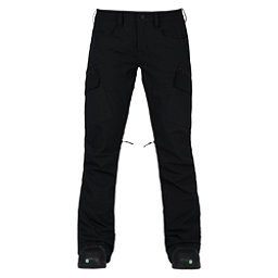Burton Gloria Womens Snowboard Pants, True Black, 256