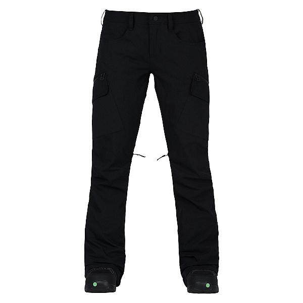 Burton Gloria Womens Snowboard Pants, True Black, 600