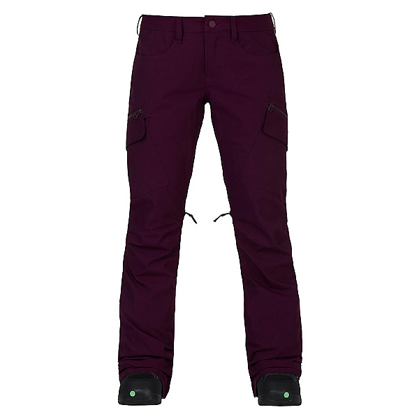 Burton Gloria Womens Snowboard Pants, Starling, 600