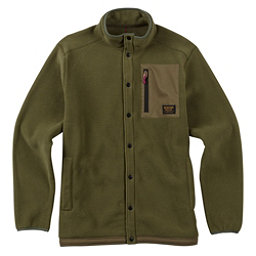 Burton Hearth Snap-Up Fleece Mens Mid Layer, , 256