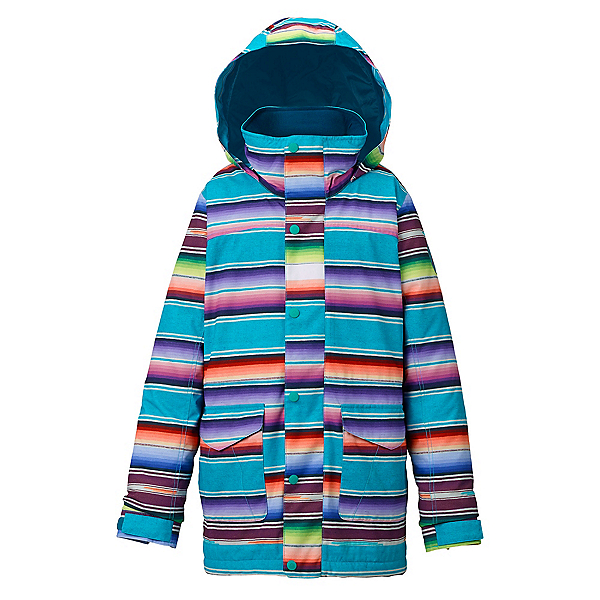 Burton Elstar Parka Girls Snowboard Jacket, , 600