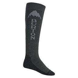Burton Emblem Snowboard Socks, Faded Heather, 256