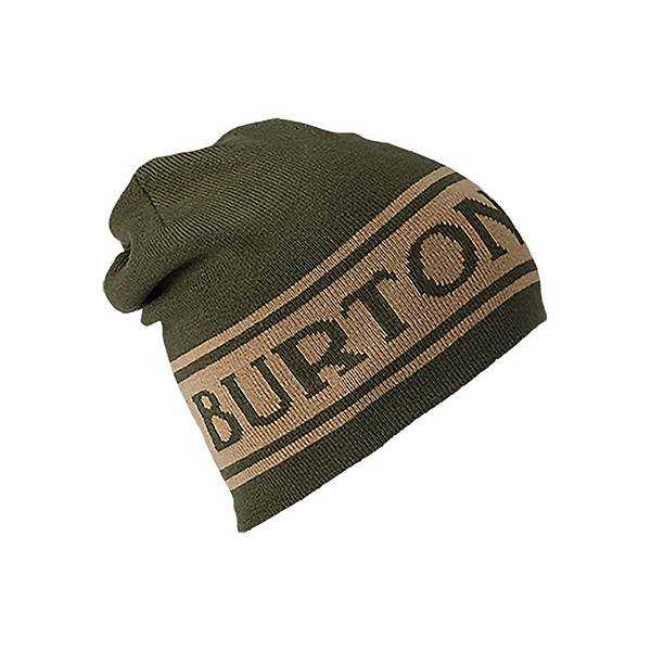 Burton Billboard Beanie Hat, True Black-Iron Gray, 600