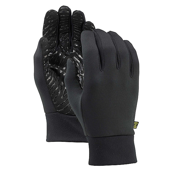 Burton Powerstretch Glove Liners, True Black, 600