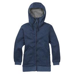 Burton Minxy Full Zip Fleece Womens Hoodie, Mood Indigo Heather, 256