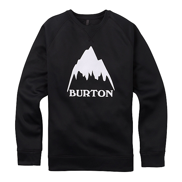 Burton Bonded Crew, True Black, 600