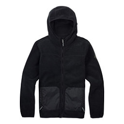 Burton Anouk Fleece Full Zip Womens Hoodie, True Black, 256