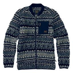 Burton Grove Full Zip Fleece Mens Sweater, , 256