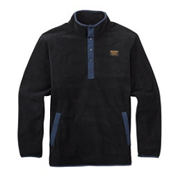 Burton Heather Fleece Anorak Mens Shirt, True Black, 256