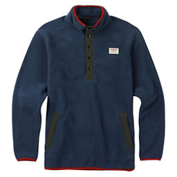 Burton Heather Fleece Anorak Mens Shirt, Mood Indigo, 256