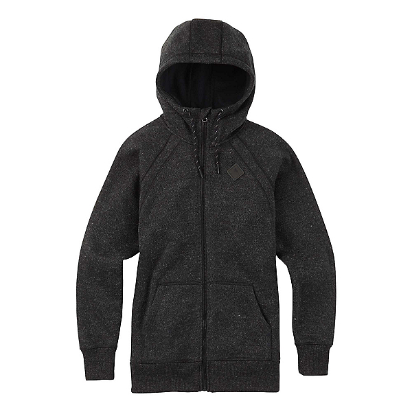 Burton Bonded Scoop Full Zip Womens Hoodie, , 600