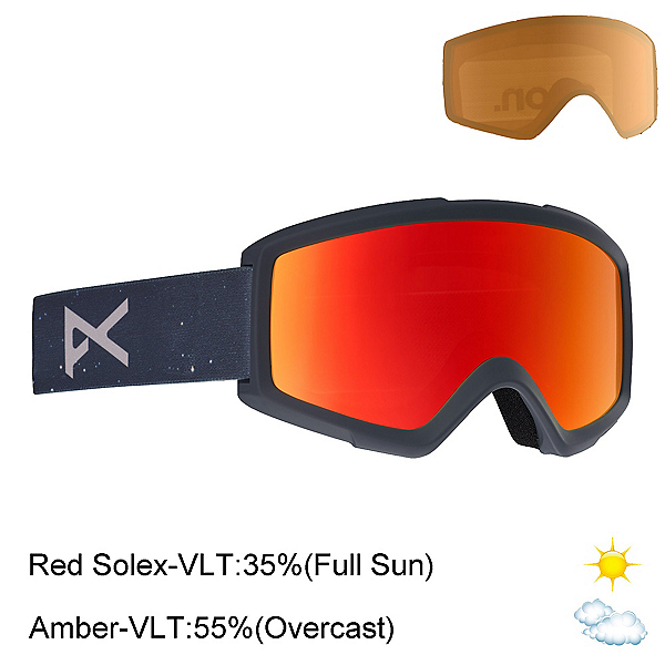 Anon Helix 2.0 Goggles 2020, Part Sun, 600