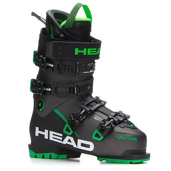Head Vector Evo 120 Ski Boots 2018, Anthracite-Black Green, 600